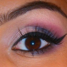 Simple Purple Smokey Eye