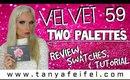 Velvet 59 | The Rose Metals Palette | Review | Swatches | Tutorial | Tanya Feifel-Rhodes