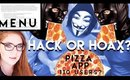 PIZZAGATE MENU & APP | HACK OR HOAX?