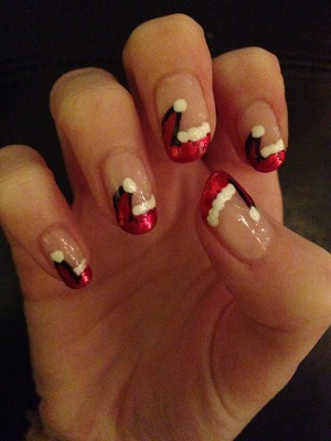 Ideas for Christmas nails! | Beautylish