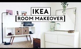 EXTREME BEDROOM MAKEOVER + TRANSFORMATION! IKEA HACKS 2019   Nastazsa