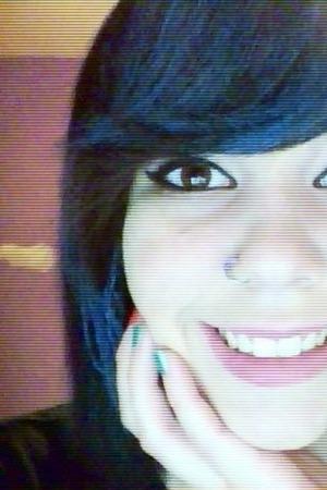 Half my face