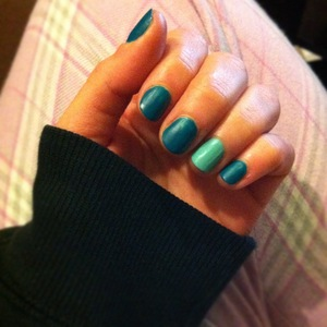 (China Glaze - For Audrey accent nail)