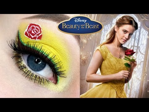 65570ea3e85 Beauty And The Beast Belle Makeup Tutorial Cecilie Alstad O