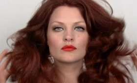 Karen Elson Make-up Tutorial