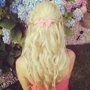 Cute waterfall braids