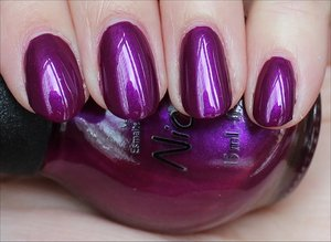 See more swatches & my review here: http://www.swatchandlearn.com/nicole-by-opi-pretty-in-plum-swatches-review