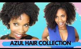 Add Volume to Natural Hair with Azul Hair Collection