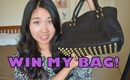 BagInc Melrose Glam Samurai Leather Bag Review ♥ What's In My Bag