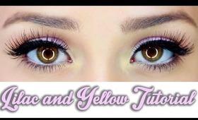 Lilac and Yellow Eye
