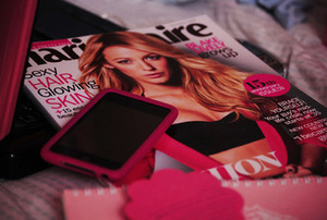 marie claire and iPhone