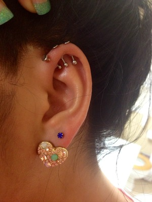 Im Thinking About Getting A Forward Helix Piercing Beautylish