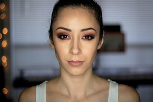 I contoured my face using the wonderful Anastasia Beverly Hills Contour kit.  Learn how: http://www.youtube.com/watch?v=vEx4BHmE0o0&feature=share&list=UU6swlzXRiBnLKhwH6AQy7_w