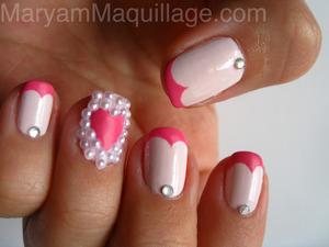 hearts, diamonds & pearls http://www.maryammaquillage.com/2012/02/hearts-diamonds-pearls.html