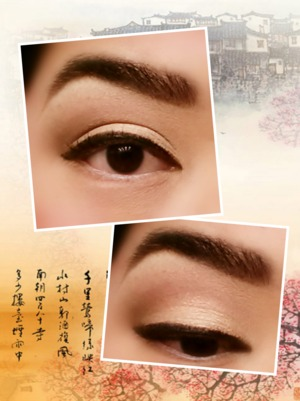 neutral eye for pin-up shoot