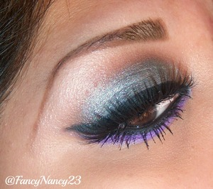 Wearing Pretty Zombie Cosmetics loose eye shadows in Graveyard Dust, Thy Broomstick and Poisonella. Paired with my favorite mink lashes by Velour Lashes in Lash in the City. Follow me on Instagram @FancyNancy23