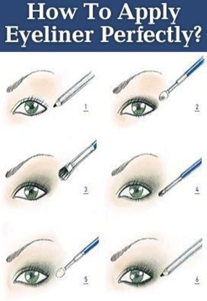 Make up is never complete without eyeliner.This tutorial is for beginners here you can read    *How to pick the right color of eye liner for you?  *How to pick the type of liner to use  *How to apply eyeliner(step by step break down) How to wear eyeliner http://www.stylecraze.com/articles/how-to-apply-eyeliner-perfectly/