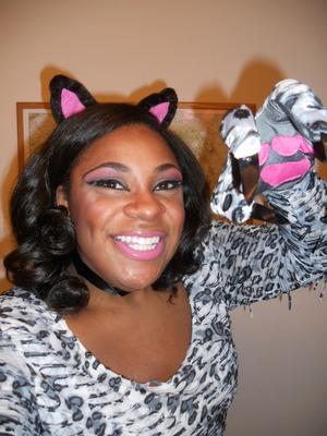 Halloween '11 Pretty Snow Leopard
