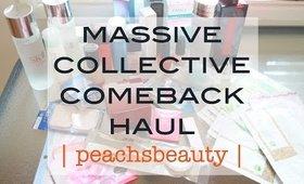 MASSIVE Collective Comeback Haul   Summer 2015   peachsbeauty