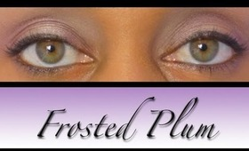 Frosted Plum Eye Tutorial | Light Intensity