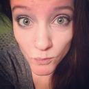 Eye makeup (sliver-black-pink/purple)