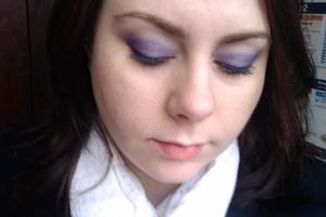 purple daytime eye