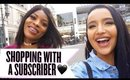 TAKING A SUBSCRIBER MAKEUP SHOPPING ♡ AMANDA ENSING