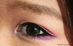 Vibrant Purple Eye