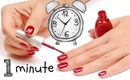 FAIL! Paint Your Nails in 1 Minute CHALLENGE!
