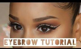 Eyebrow Tutorial | ABH Dipbrow Pomade | VICKIE ELYSIA