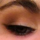 Smoky brown eye