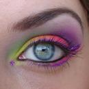 Acid dare, colourful version