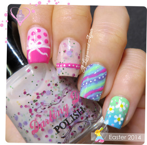 More on the blog: http://www.alacqueredaffair.com/Easter-2014-34618562
