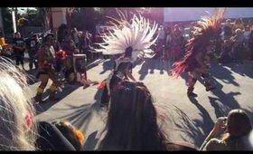Dia de los Muertos celebration in the Heights