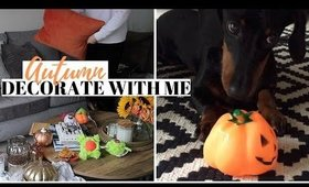 CLEAN AND AUTUMN DECORATE WITH ME UK | AUTUMN 2019