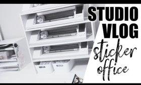 Studio Vlog 1 : Relocating my Sticker Shop Office