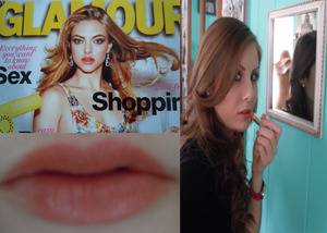Amanda Seyfried Glamour Cover Look