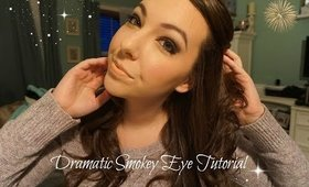 DRAMATIC SMOKEY EYE TUTORIAL | COSMO4CONFIDENCE