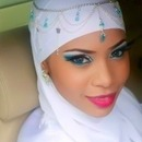 Arabic style make up