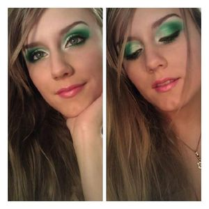 Emerald Eyes....for St.Patrick's Day!