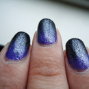 Purple/Black 'Gradient'