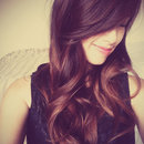 Soft Ombre hair and Long, wavy curls