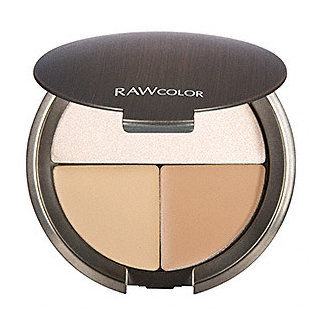 RAW Natural Beauty Raw Color Perfect Balance Concealer and Highlighter Trio-Light