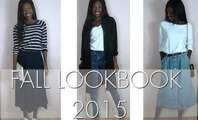 MODE : Lookbook d'Automne 2015 | Minimaliste | CendrityssTV