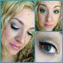 Easy colorful smokey eye (turquoise)