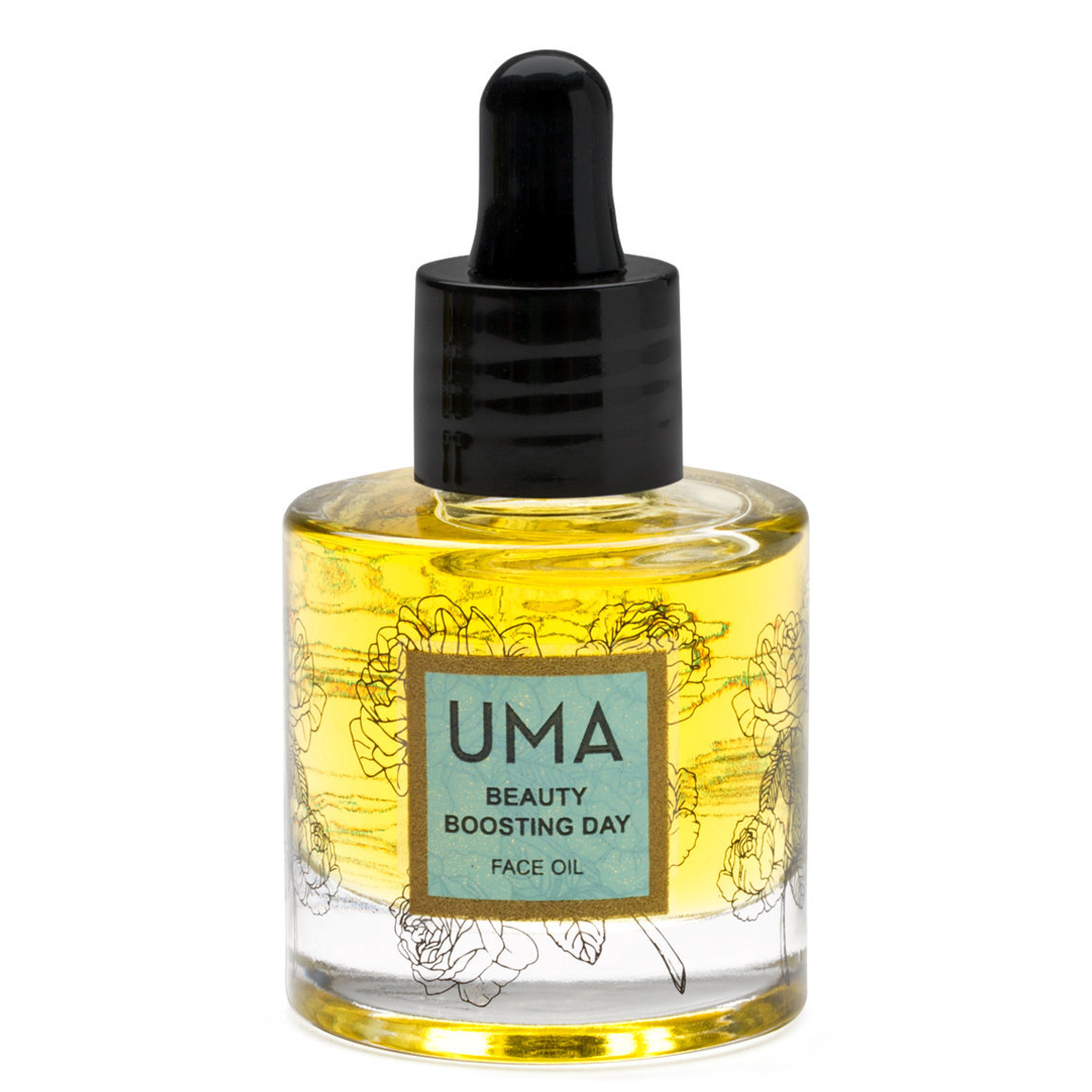 Uma Beauty Boosting Day Face Oil product smear.