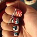 More chevron nails