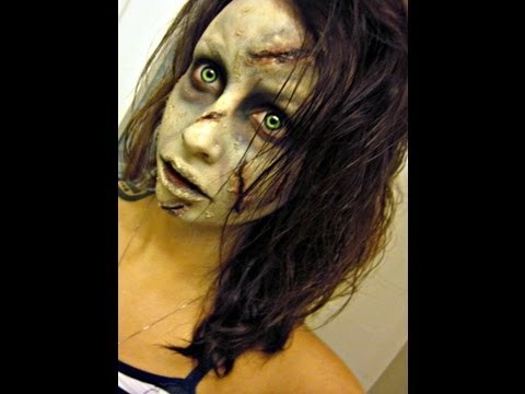 The exorcist makeup tutorial youtube.