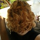 waterfall braid style by Christy Farabaugh