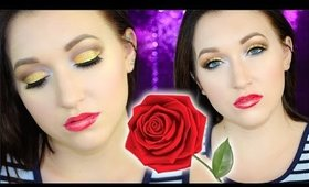 BEAUTY AND THE BEAST Inspired Eye Makeup Tutorial
